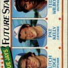 1980 Topps 674 Butch Edge RC/Pat Kelly/Ted Wilborn RC
