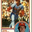 1983 Topps 363 John Stuper RC