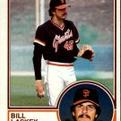 1983 Topps 518 Bill Laskey RC
