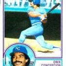 1983 Topps 52 Onix Concepcion RC