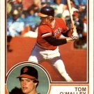 1983 Topps 663 Tom O'Malley RC