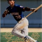 1998 Fleer Tradition 149 Carlos Mendoza RC