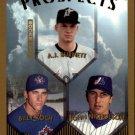 1999 Topps 437 A.J. Burnett RC/Billy Koch/John Nicholson RC