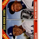 2015 Topps Heritage #288 Melvin Mercedes RC/Yimi Garcia RC