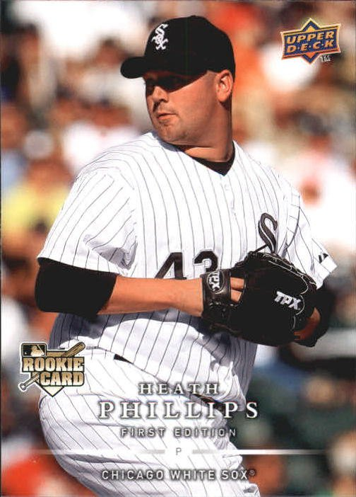 2008 Upper Deck First Edition 288 Heath Phillips RC