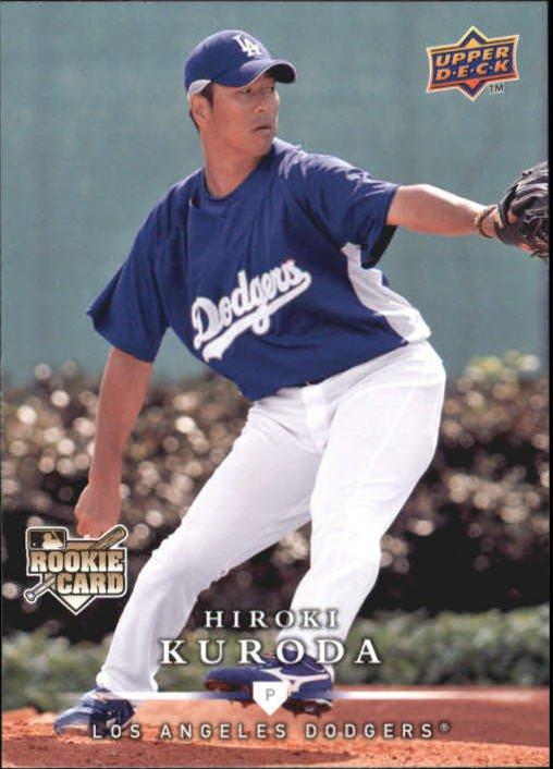 2008 Upper Deck First Edition 390 Hiroki Kuroda RC