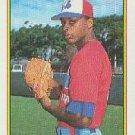 1990 Bowman 107 Howard Farmer RC