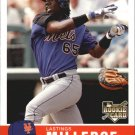 2006 Fleer Tradition 107 Lastings Milledge (RC)