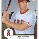 2006 Topps 52 122 Jeff Mathis (RC)