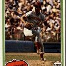 1981 Topps 258 Joe Price RC