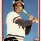 1981 Topps 484 Max Venable DP RC