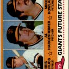 1981 Topps 502 Chris Bourjos RC/Al Hargesheimer RC/Mike Rowland RC