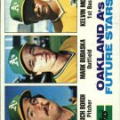 1982 Topps 531 Rich Bordi RC/Mark Budaska RC/Kelvin Moore RC