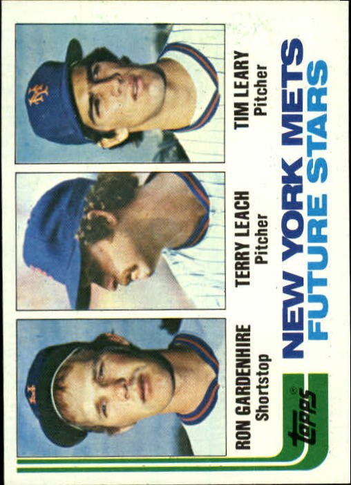 1982 Topps 623 Ron Gardenhire RC/Terry Leach RC/Tim Leary RC