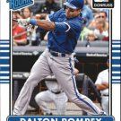 2015 Donruss 33 Dalton Pompey RC