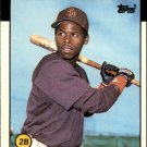 1986 Topps Traded 91T Bip Roberts XRC