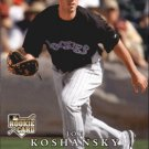 2008 Upper Deck First Edition 274 Joe Koshansky (RC)