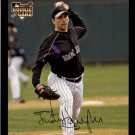 2007 Topps 637 Justin Hampson (RC)