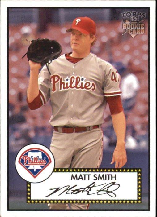 2006 Topps 52 24 Matt Smith RC