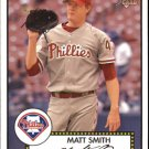 2006 Topps 52 24 Matt Smith RC