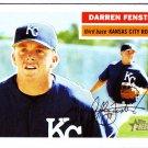 2005 Topps Heritage 365 Darren Fenster RC