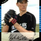 2005 Bowman Draft 40 Kyle Winters FY RC