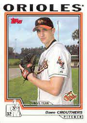 2004 Topps 304 Dave Crouthers FY RC