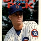 1995 Topps 437 Jayson Peterson RC