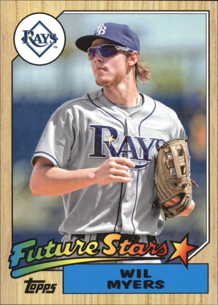 2014 Topps Archives Future Stars 87FWM Wil Myers