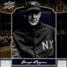 2008 Upper Deck Yankee Stadium Legacy Collection 425 George Pipgras