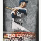 2016 Topps The Greatest Streaks #GS-09 Ted Williams