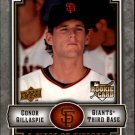 2009 UD A Piece of History 102 Conor Gillaspie RC