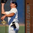 1999 UD Choice Rookie Class R7 Jeremy Giambi