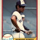 1981 Fleer 415 Damaso Garcia RC