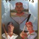 1999 Topps 430 Ruben Mateo/Scott Morgan/Mike Zywica RC RC