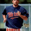 2006 Upper Deck 989 Boof Bonser (RC)