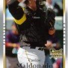 2007 Upper Deck 34 Carlos Maldonado (RC)