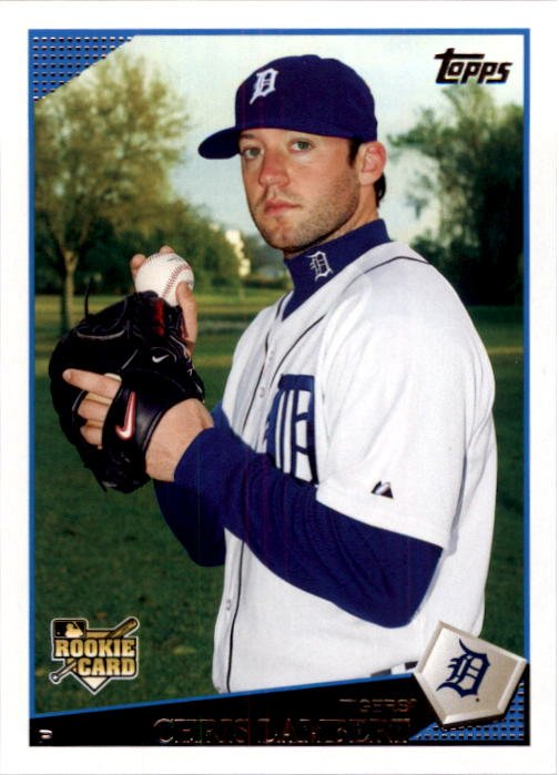 2009 Topps 282 Chris Lambert (RC)