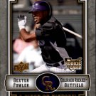2009 UD A Piece of History 116 Dexter Fowler (RC)