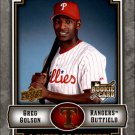 2009 UD A Piece of History 119 Greg Golson (RC)