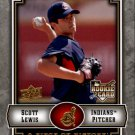 2009 UD A Piece of History 123 Scott Lewis (RC)