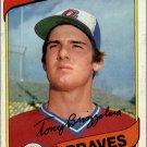 1980 Topps 156 Tony Brizzolara RC