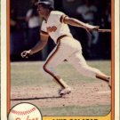 1981 Fleer 501 Luis Salazar RC