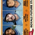 1981 Topps 66 Manny Castillo RC/Tim Ireland RC/Mike Jones RC