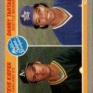 1985 Fleer 647 Steve Kiefer RC/Danny Tartabull RC