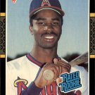 1987 Donruss 38 Devon White RC