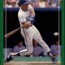 1988 Score 377 Bill Pecota RC