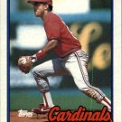 1989 Topps 588 Luis Alicea RC