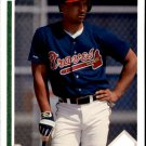 1991 Upper Deck Final Edition 56F Keith Mitchell RC