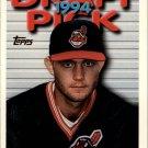 1995 Topps 398 Rick Heiserman RC